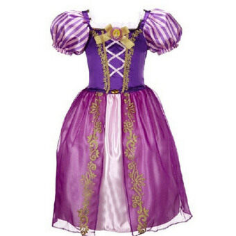 Harga Fashion Girls Dresses Children's Party Halloween Dresses Kids Fairy Tale Drama Princess Dresses Age 2-10 Kids Cosplay Costume Clothes - Purple