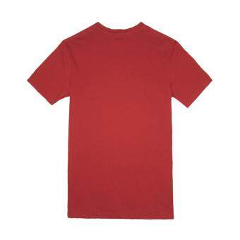 Harga F.O.S NAVY & NAVY MEN BASIC MAROON V-NECK TEE