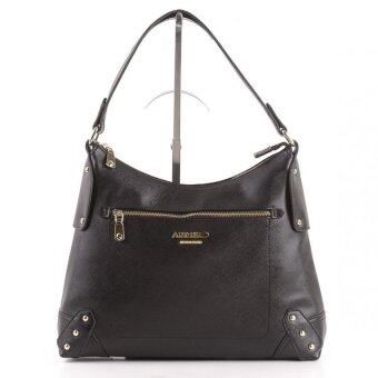 Harga Alfio Raldo LB-50715-15B Synthetic Leather Tote Bag (Black)