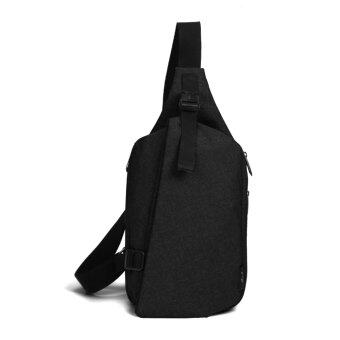 Harga Crossbody Sling Bag Large (Black Ash)