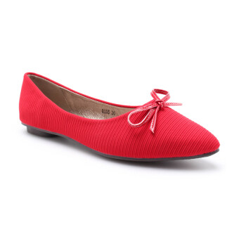 Harga COMO B005 Women Flats Red