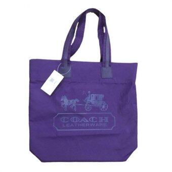 Harga COACH Stylish Tote Bag (Purple)