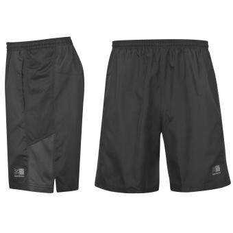Harga Karrimor Mens Sports Long Running Shorts Built in Stretch Pants Bottoms Black