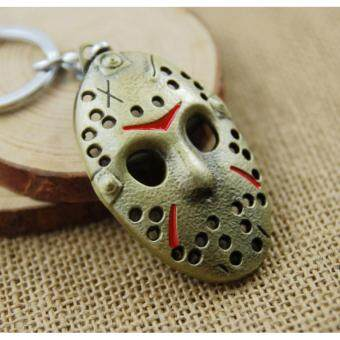 Harga 1pcs Movie Key Chain Friday the 13th Keychain Men Gift Key Chain Key Holder(OVERSEAS)