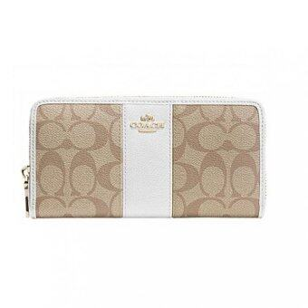 Harga Coach Long wallet - White