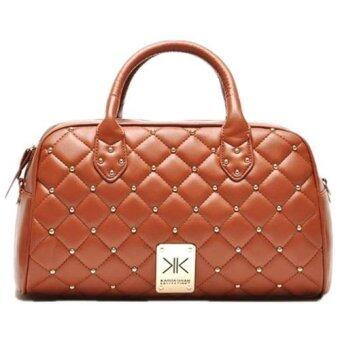 Harga Kardashian Kollection Quilted Bag (Saddle)