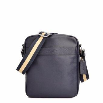 Harga Coach F54782 Charles Flight Bag in Smooth Leather in Midnight