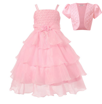 Harga Baby Girls Lace Cake skirt With Diamond Wedding Party Tutu Dress With Little shawl Two pieces