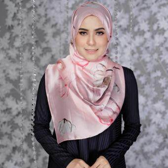 Jelitasara X Lazada Pure Silk Long Shawl (Pink Taffy)