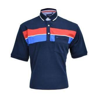 John Master Men Lifestyle Regular Fit Polo Navy 8067000 - 2