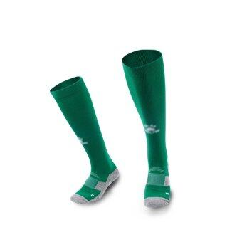 Kelme K15Z908 Men Antiskid Wearable Football Match Stockings (Grass Green White)