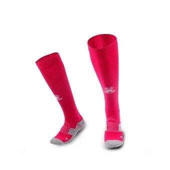 Kelme K15Z908 Men Wearable Antiskid Football Match Stockings (Rose White)