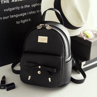 ... Kulit Lembut Tas Perjalanan. Source · Korean-style Leather New style mini Shinebager backpack (Black)