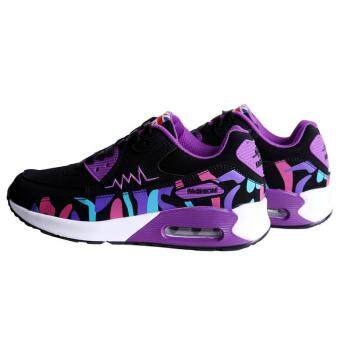 LALANG Women Casual Sports Shoes Sneakers Breathable Outdoor Walking Running Shoes Purple - 5