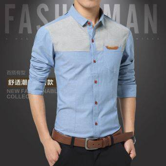 Harga Levis thin shirt male long sleeved shirt