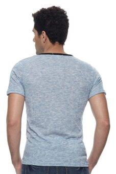 LZD MAN Granddad Collar Tee Grey - 2