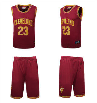 Harga Men's Cleveland Cavaliers #23 LeBron James NBA Basketball jerseys