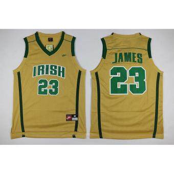 Harga Men's Cleveland Cavaliers 23# LeBron James NBA BasketballBreathable Jerseys