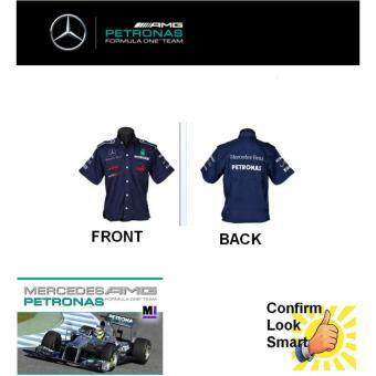 Mercedes Benz Petronas Winner Racing Team F1 Shirt Blue By PUMA