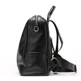 Munoor Italian 100% Genuine Leather Women Backpacks Shoulder BagsTravel Hoders - 5