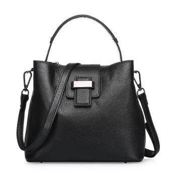 Munoor ITALIAN Women Tote Bags 100% Genuine Cow Leather Fashionable Shoulder Bags Crossbody Travel Holder (Light Grey) - 4