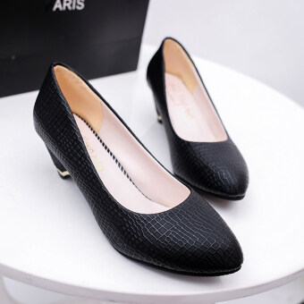 Sell New 2016 Autumn Women Work Shoes Low Heels Comfortable Round ToeWomenu0026#39;s Office Shoes In ...
