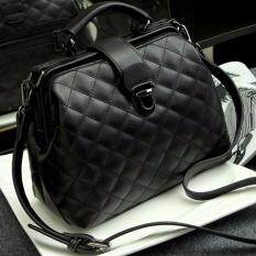 MYR 58. Paula Nubuck Leather Doctor Handbags Women Shoulder Bags Plaid Pu Messenger Bag Lady Totes Small Crossbody ...