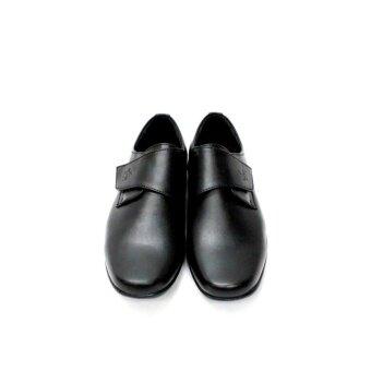 Polo Men Shoe PM-1247 (Black) - 4