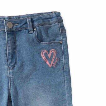 PONEY LOVE DENIM LONG PANTS (NAVY BLUE) - 2