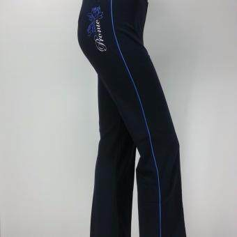 PRONIC SPORT LADIES LONG PANT LPP022 BLUE - 2