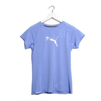 Puma Pe Running Short Sleeve Logo Women's Tee