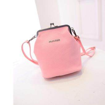 Sinma MinMin Lady Fashion Korea Style Handbag (Pink)