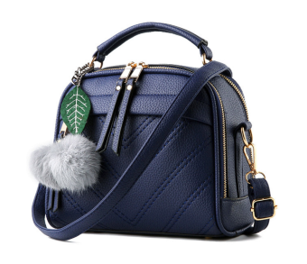 SoKaNo Trendz SKN607 Premium PU Leather Crossbody Bag_NavyBlue