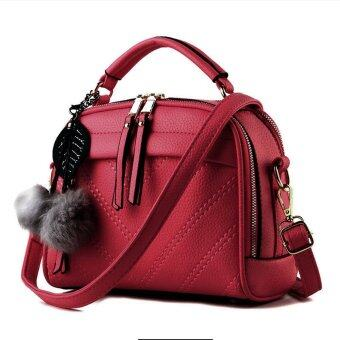 SoKaNo Trendz SKN607 Premium PU Leather Crossbody Bag_Red