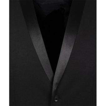 Stylish Men Jacket Suit Vest Slim Fit Vest Casual Business FormalVest Waistcoat - 3