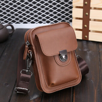 Sunking Fashion Leisure Chest Pack Crazy Horse Male Package Man SATCHEL BAG  Sling Bag (Coffee) ... 8e78dafb48cd0