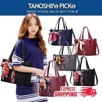 Tanoshiis Picks Fabulous Premium Ribbon Crossbody Sling Bag_Grey