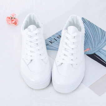 Ulzzang winter New style white shoes (All white)