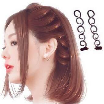 Women Hair DIY Tool French Braiding Tool Braided hair twister HairAccessories Random color - 2