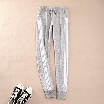 Women Ladies Casual Sport Pant Elastic Waist Trousers RunningJogging Plus Size - 4