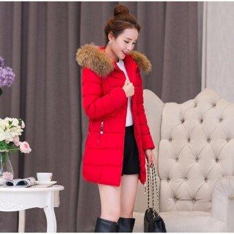 Zashion Premium Winter Down - Winter Jacket - Winter Coat - RED