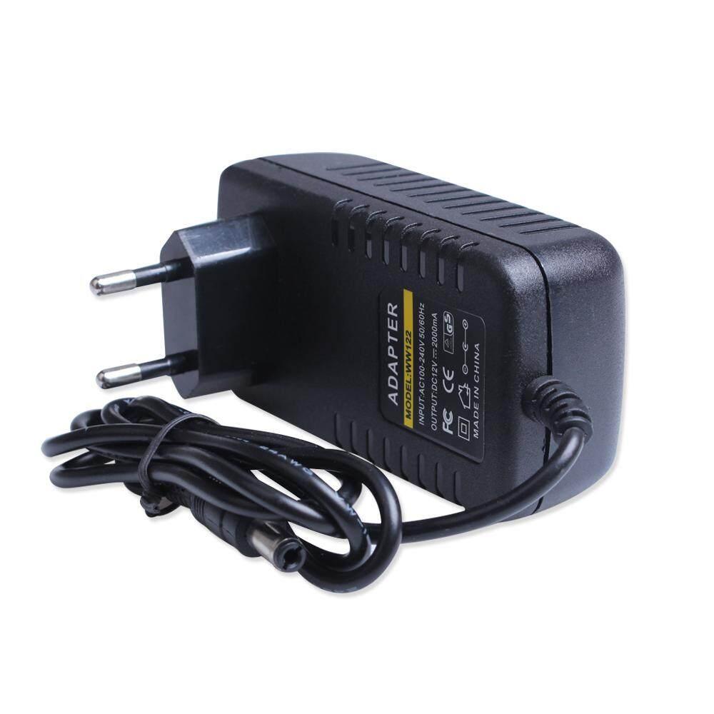 2.1mm DC Connector 12V DC 2A Power Supply UK Plug