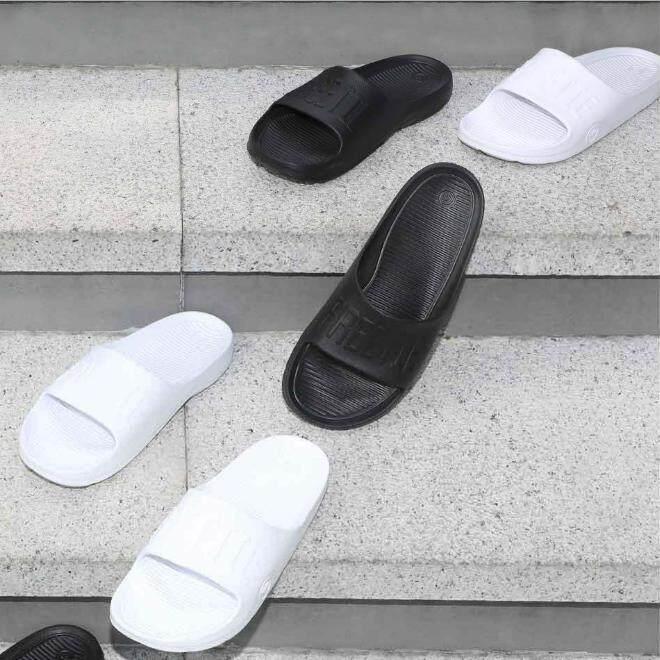 OLUMBO Men Rubber Anti-Skid Flip Flops Slippers Sandals Beach Shoes