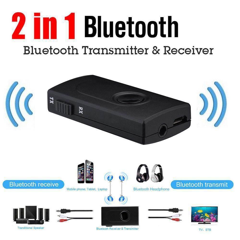 Mini Body Bluetooth Transmitter Music Adapter Splitter A2DP Headphones Speaker