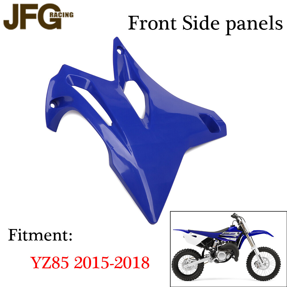 JFGRACING Complete Body Plastic Kits Fairing Fender Gas Shrouds Number Plate For Yamaha YZ85 2002-2014