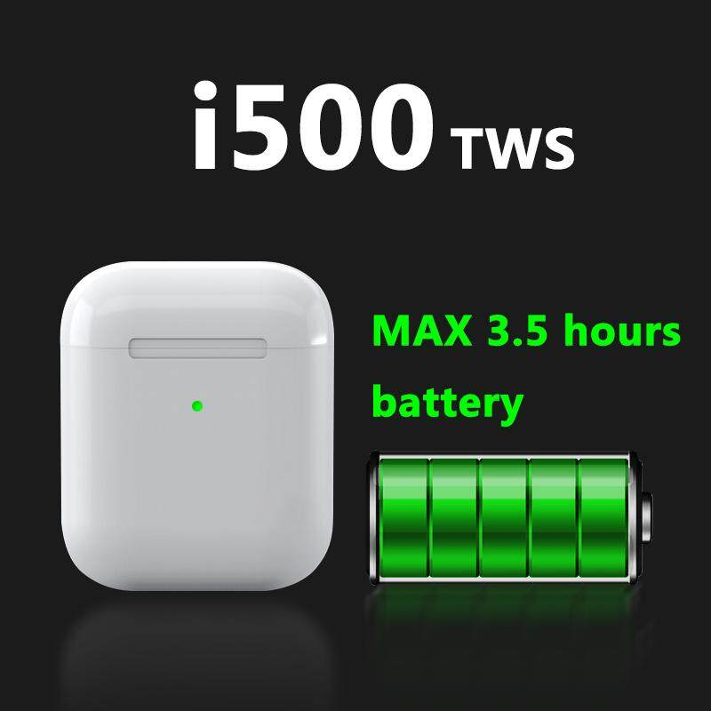i500 TWS Wireless Earphone Air 2 1:1 6D Super Bass Headset pk i200 i300  i130 i100