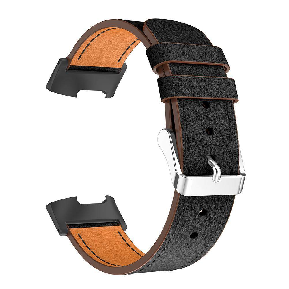 Leather Adjustable Watch Band Bracelet Wrist Strap Belt for Fitbit Charge 3