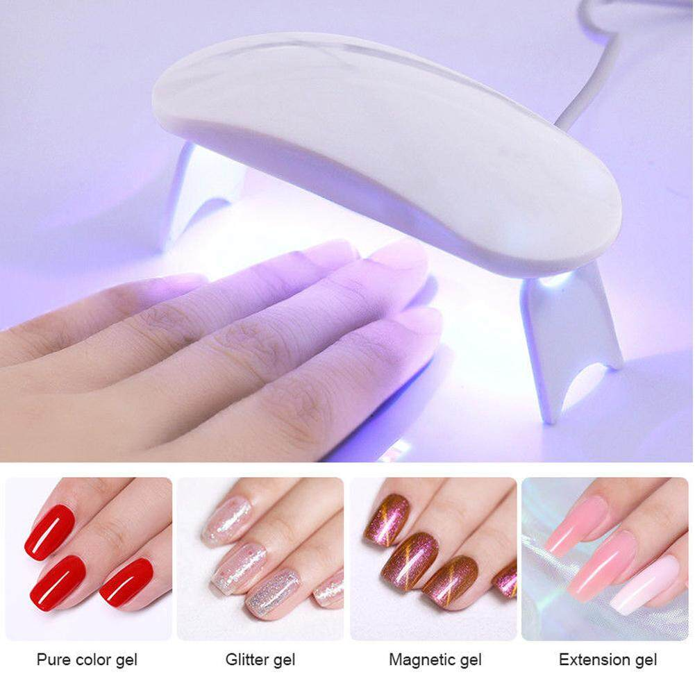 Kết nối USB Mini Nail đèn di động 6 W UV LED Đèn sạc USB Gel Chữa DOY Máy  sấy móng tay máy