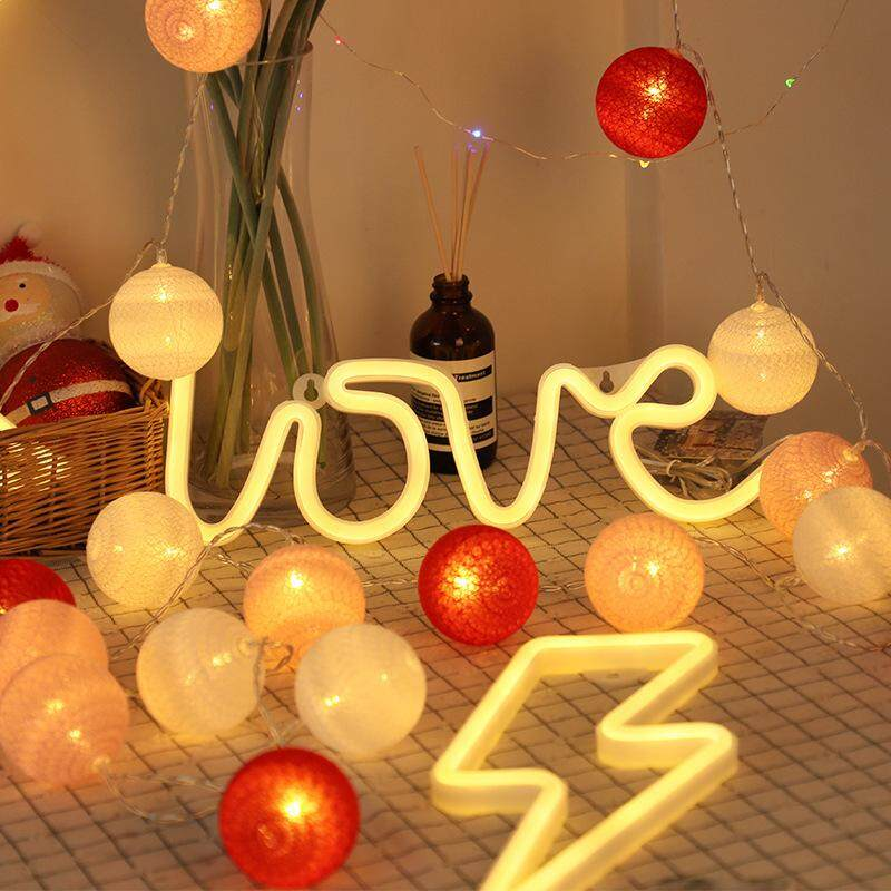Neon Sign Light Heart With Love Shape Design Room Wall Decorations Home  Love Ornament Coffee Bar Mural Crafts Home Decor Lamp