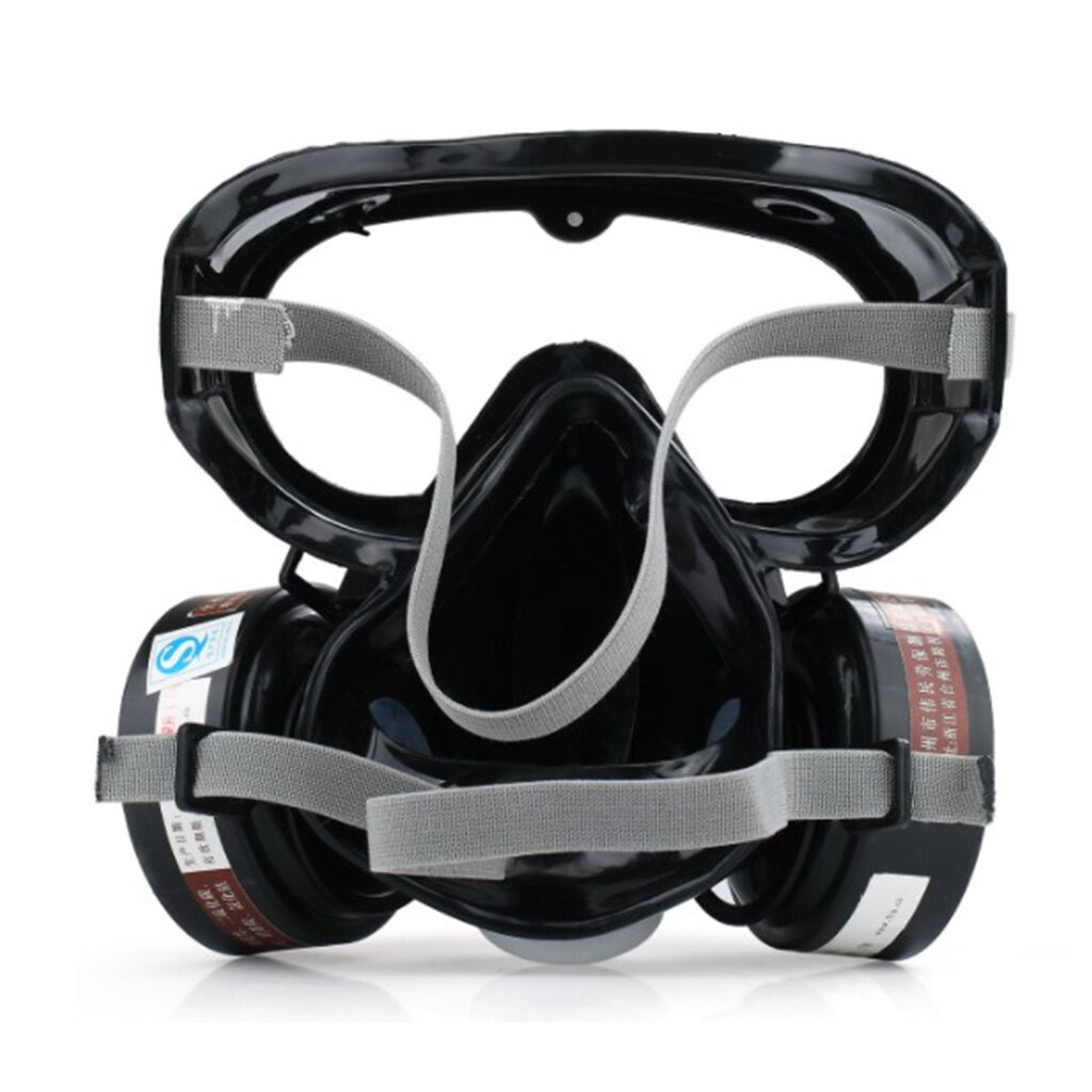 Fire Gas Respirator Full Protection Piece One Painting Spary 9600a Mask Face 1set Synthesis Smoke Dust For